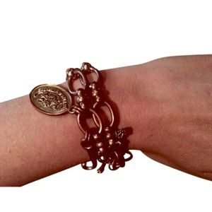 Juicy Couture Bracelet with pretty box. Rose gold